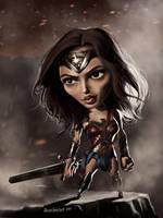 Wonder Woman by B2DaRice
