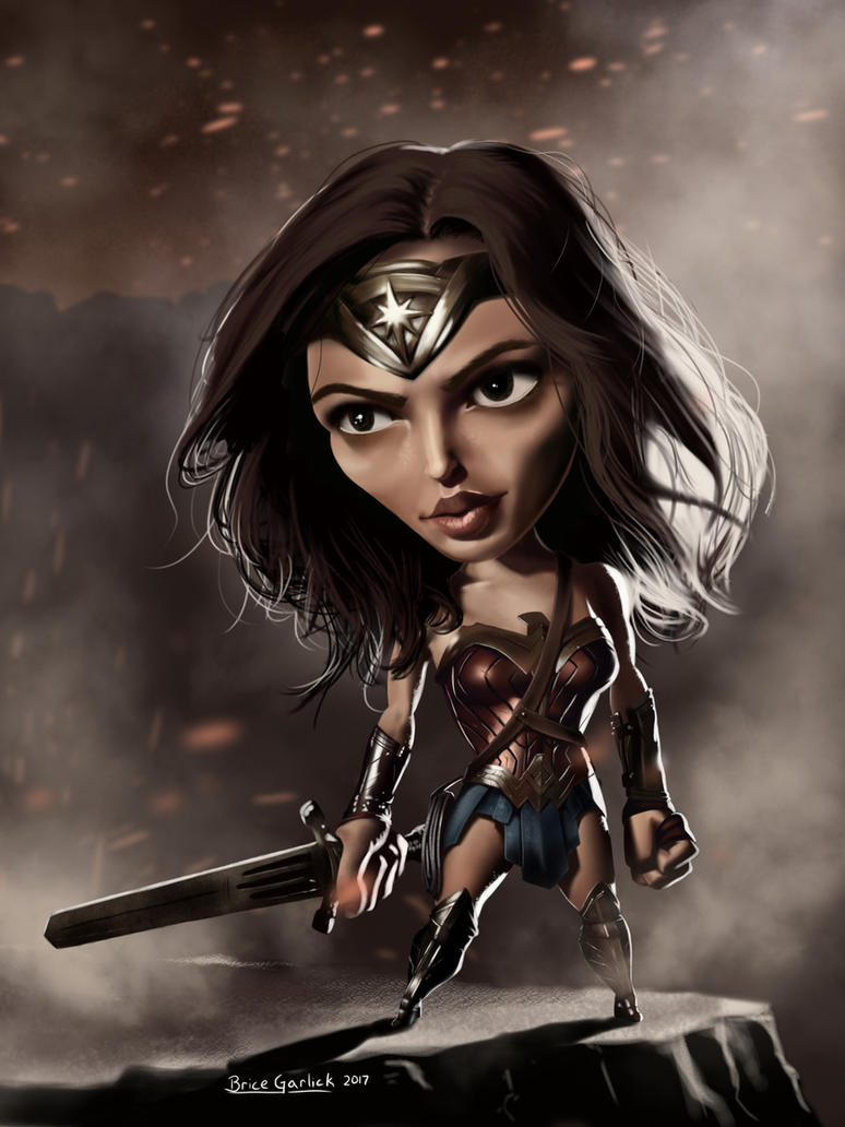 Wonder Woman by B2DaRice