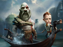 Kratos and the BOI!