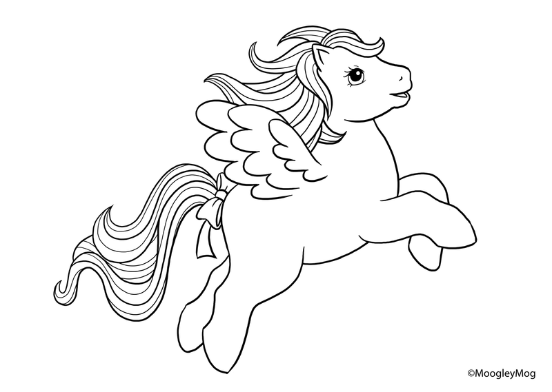 my little pony sea ponies coloring pages - mlp lineart 7 pegasus by moogleymog on deviantart