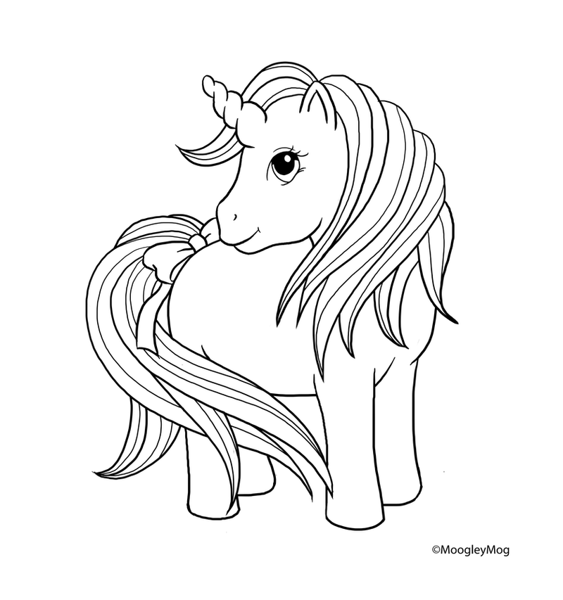 my little pony unicorn coloring pages - mlp lineart 8 unicorn by moogleymog on deviantart