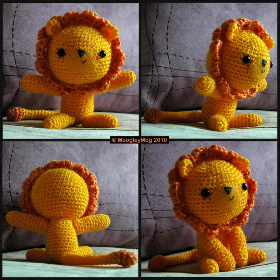Amigurumi - Daddy Lion by MoogleyMog