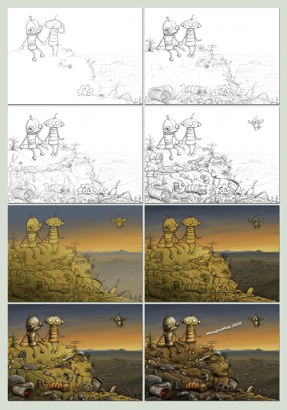 Machinarium WIP by MoogleyMog