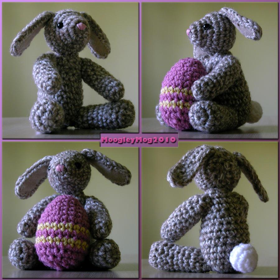 Amigurumi Egg Bunny : Amigurumi - Easter Bunny by MoogleyMog on DeviantArt