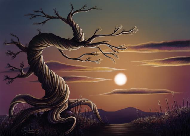 The Tree 2 by MoogleyMog