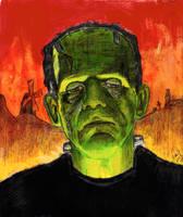 Frankenstein - Boris Karloff - Universal Monster 2 by smjblessing