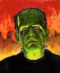 Frankenstein - Boris Karloff - Universal Monster 2