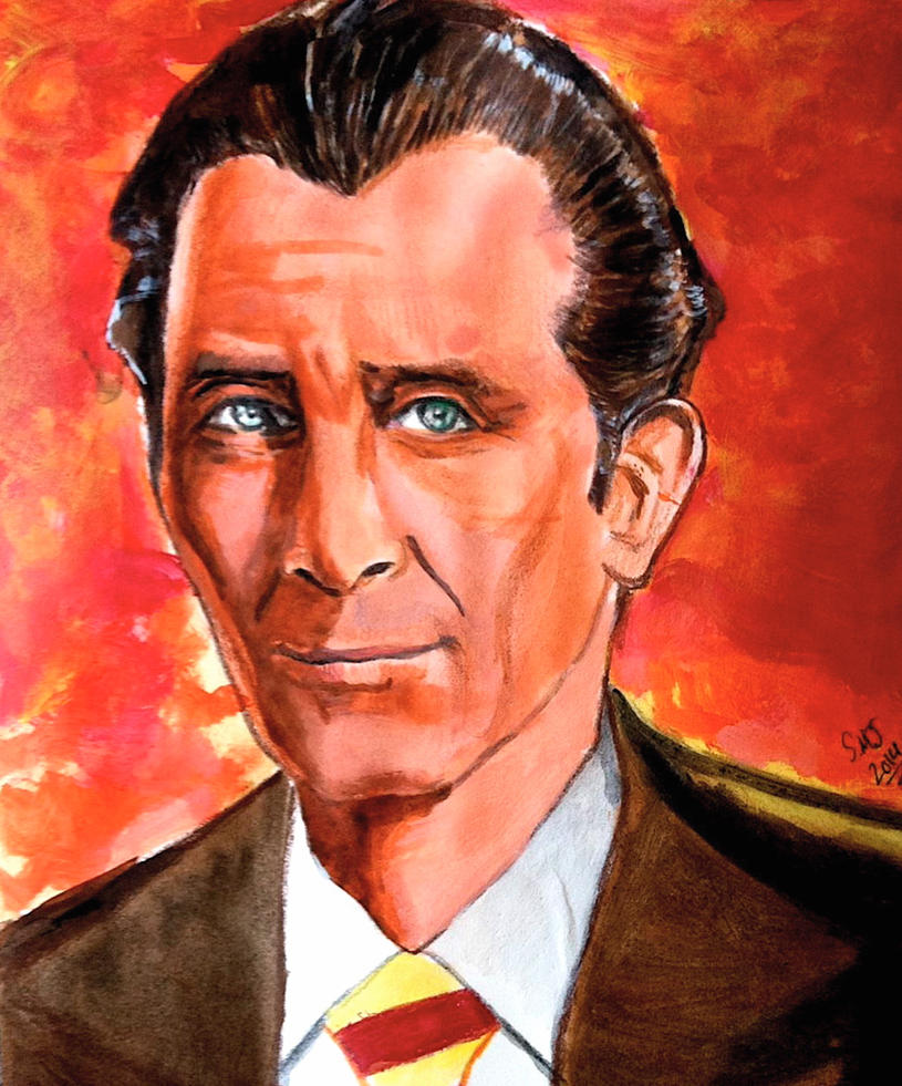 Peter Cushing - Horror Icon by smjblessing