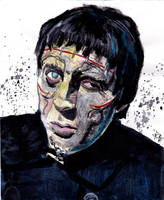 Curse of Frankenstein - Christopher Lee by smjblessing