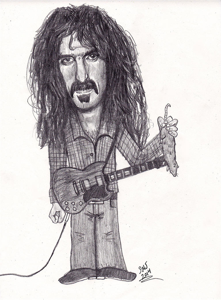 Frank Zappa - Hot Rats by smjblessing