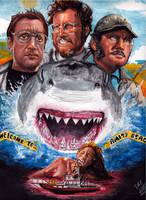 Jaws 40th Anniversary (1975 - 2015) by smjblessing