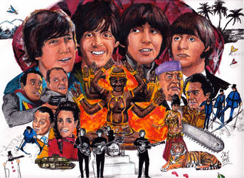 Beatles - HELP ! - 50th Anniversary (1965 - 2015)