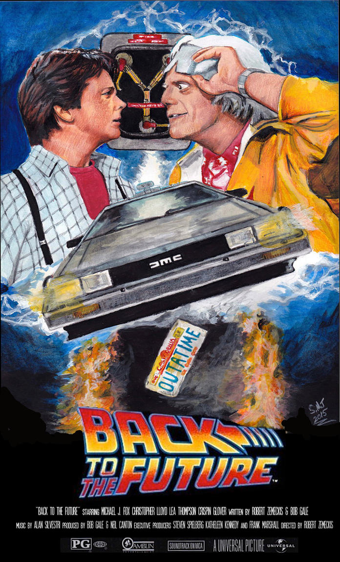 Back to The Future 30th Anniversary Poster by smjblessing