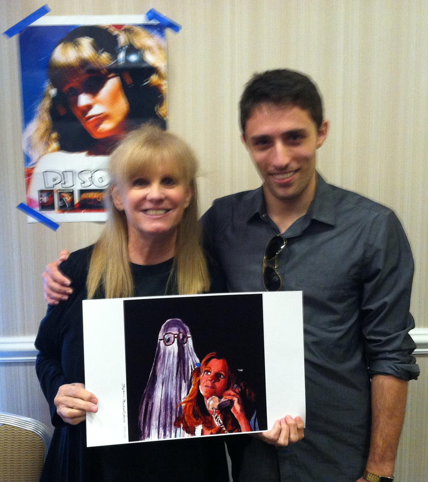 With PJ Soles - Halloween -  and my art ! by smjblessing