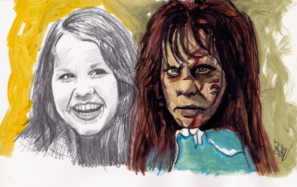 Linda Blair - Regan - The Exorcist by smjblessing