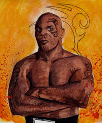 Mike Tyson by smjblessing