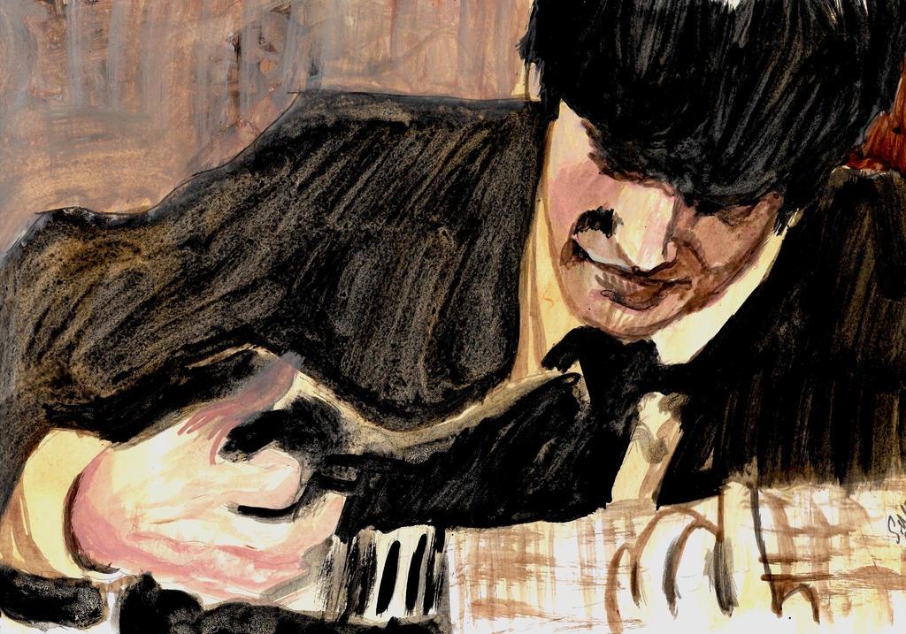 John Lennon 1964 by smjblessing