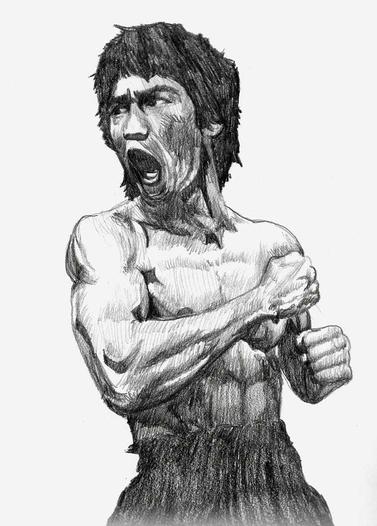 Badass MOFO - Bruce Lee by smjblessing