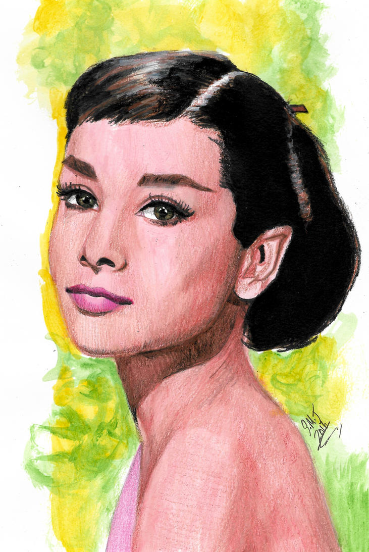 Ms. Hepburn by smjblessing
