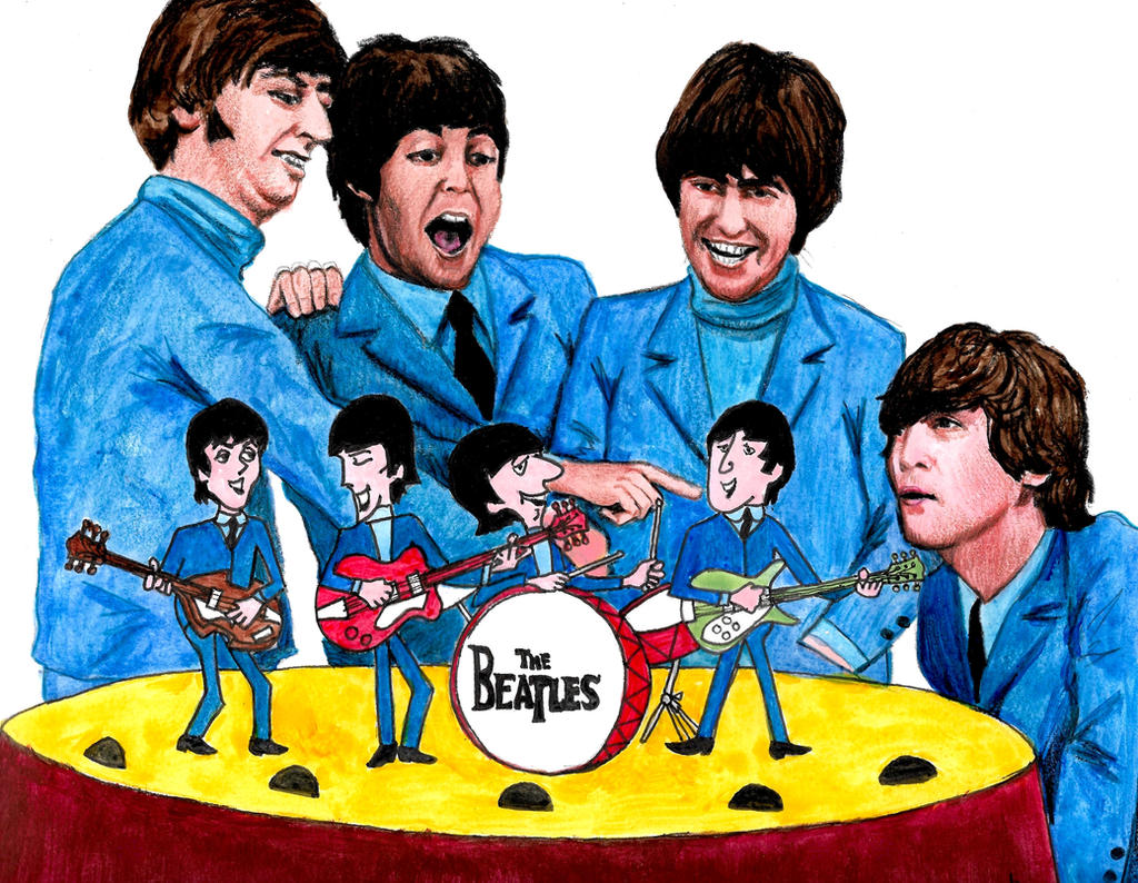 Beatles Cartoon Series - 50th anniversary by smjblessing ...