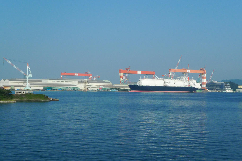 Mitsubishi makes LNG tankers too. not just cars :D by Pandinus