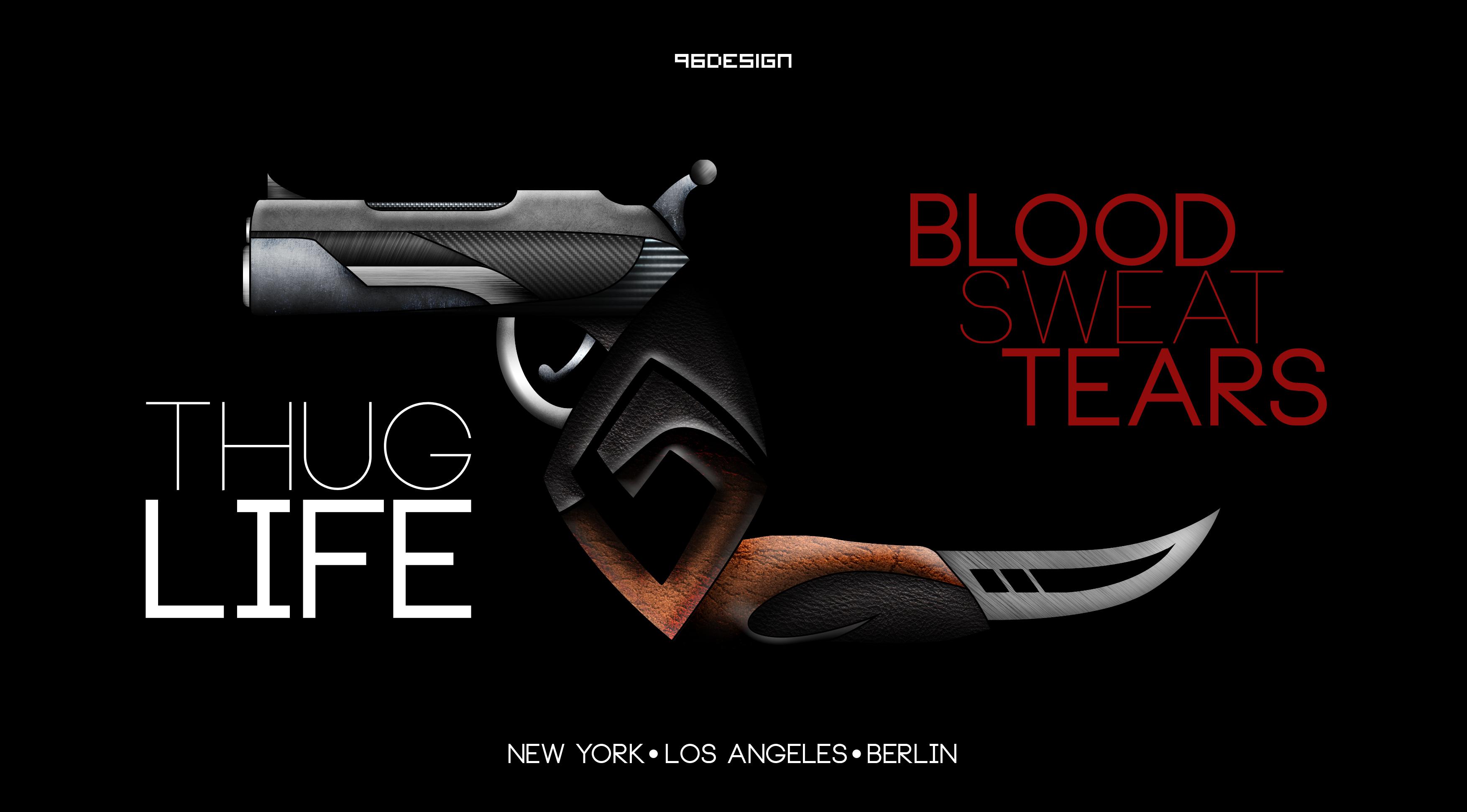 thug life by 96design on deviantart