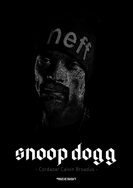 Snoop Dogg - Tipografik portre çalışmam
