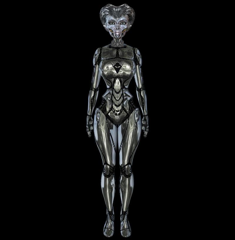 Robot Woman 1 by Madcurse