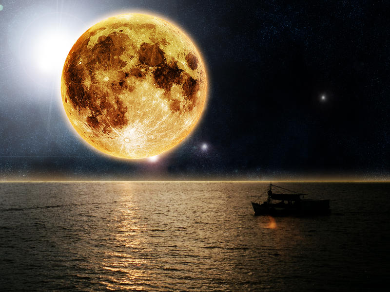 Yellow Moon 2 By Francr2009 On Deviantart