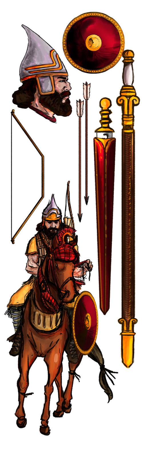 Assyrian Warrior by rubenslima