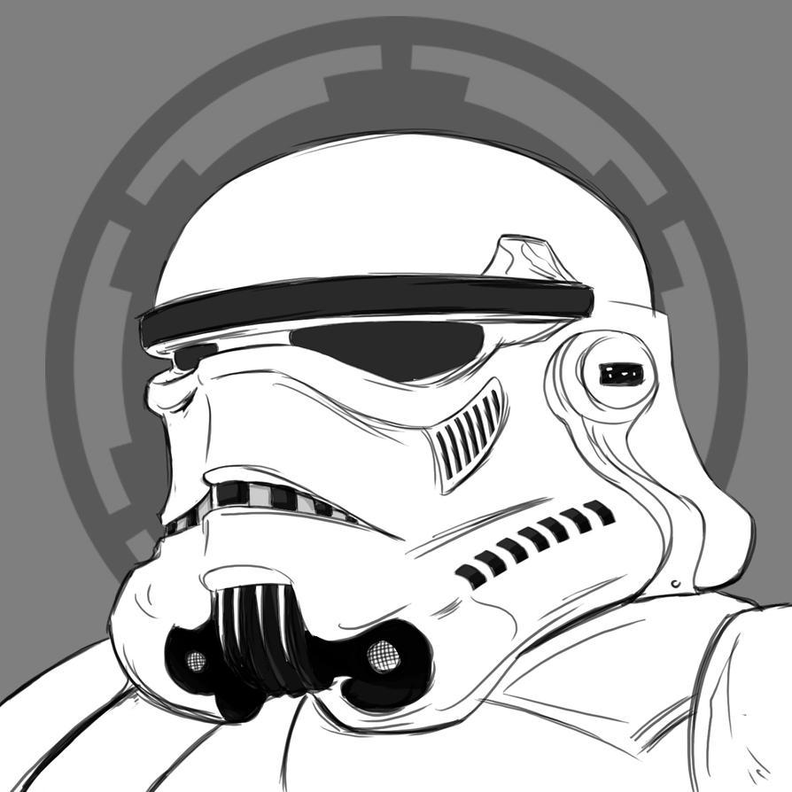 Stormtrooper by rubenslima