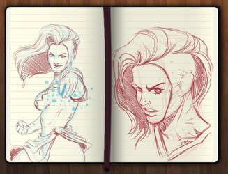 Captain Marvel (Miss Marvel) by rubenslima
