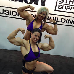 Jodi and Jessi Huge by sheldor73