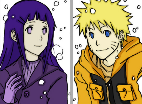 NaruHina:Winter Wonderland by RedxMochi