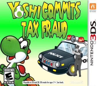 yoshi's new game by AudaxTheWarrior