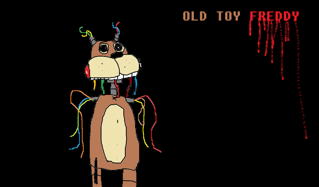 Old Freddy Toys : Old toy freddy fanmade by redgamingdevil on deviantart