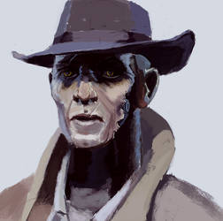 Nick Valentine by clemensons