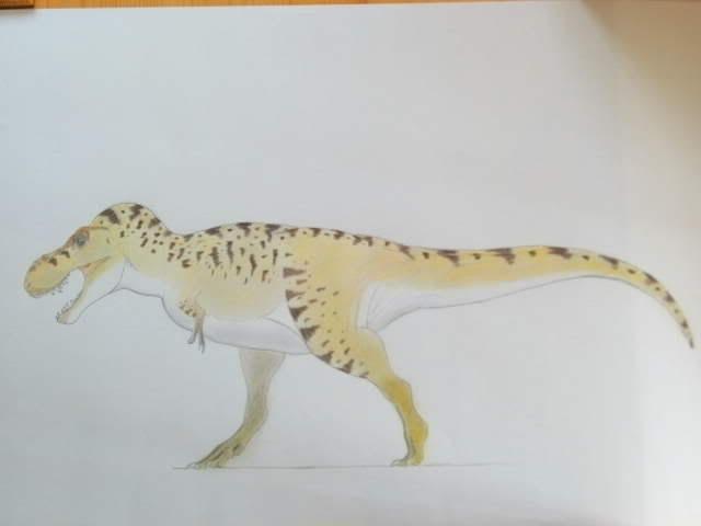 T.rex strut! by Kazuma27