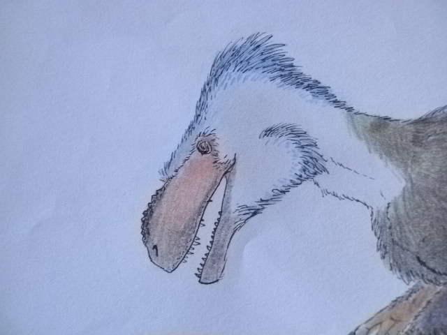 Terror tyrannosauroid from the Morrison. by Kazuma27