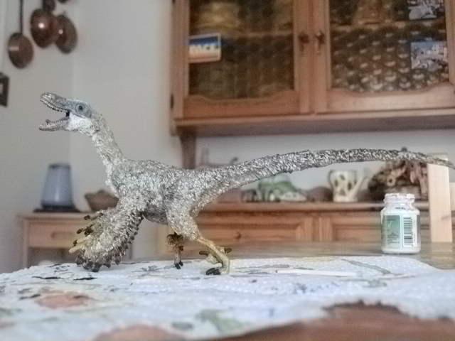 Feathered WS Velociraptor: finished! by Kazuma27
