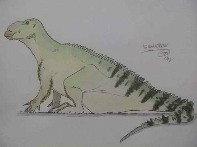 Sitting dinosaurs n.1 by Kazuma27