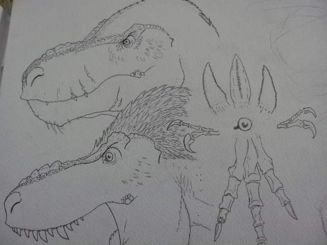 The four great deinodon tribes (preview) by Kazuma27