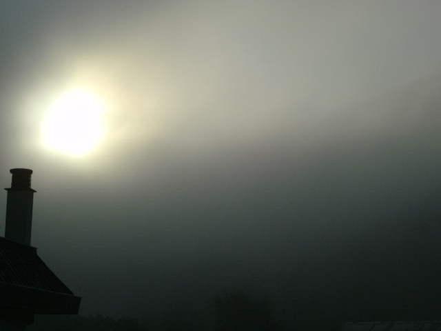 Misty sun by Kazuma27