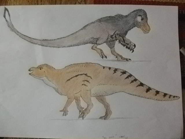 Generic englishsaurs by Kazuma27