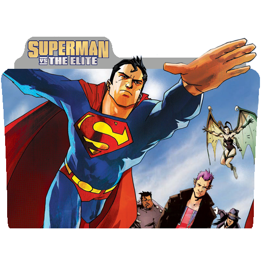 Superman Vs The Elite folder icon .png by hallow-vandal on ...