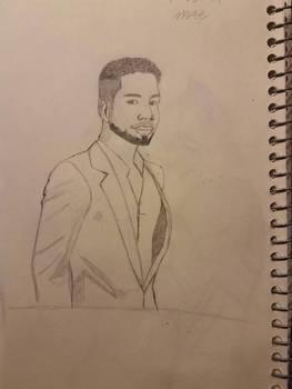 Jussie Smollett Sketch