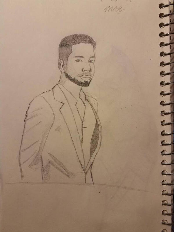 Jussie Smollett Sketch by kingmark14