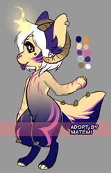 Fire Demon Adopt by matemi-i