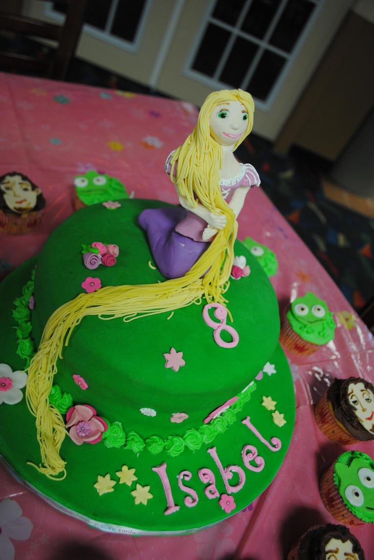 Boutique Cake Art Yarraville : Tangled Cake by Ka2Spider1 on deviantART