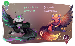 :Auction: Dreamscapers 1-2 [CLOSED] by Spiritmydog-Adopts